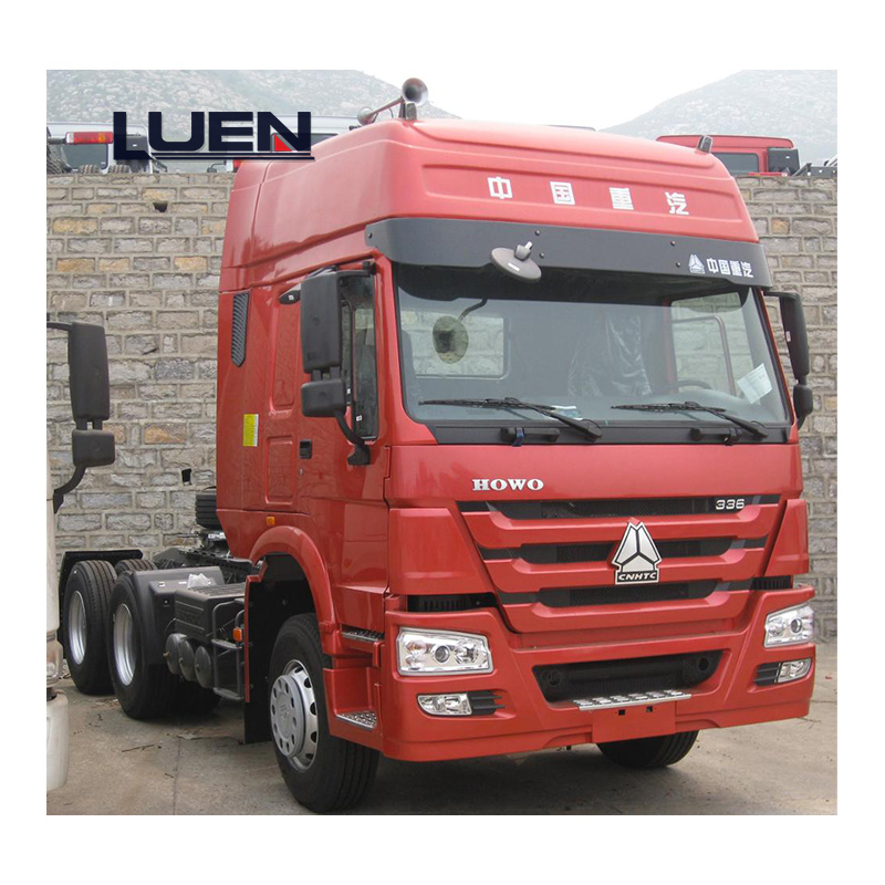 SinoTruck HOWO Heavy Truck  6X2 420hp Trailer for Truck Tractor  Head for sale