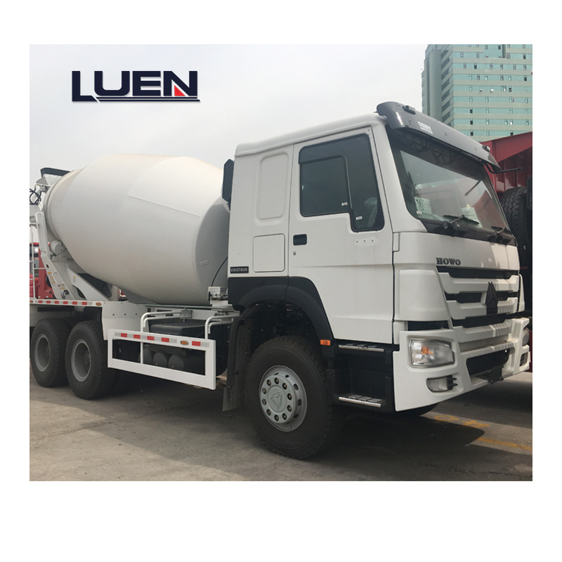 China manufacturer used mercedes concrete mixer truck with throttle control for sale