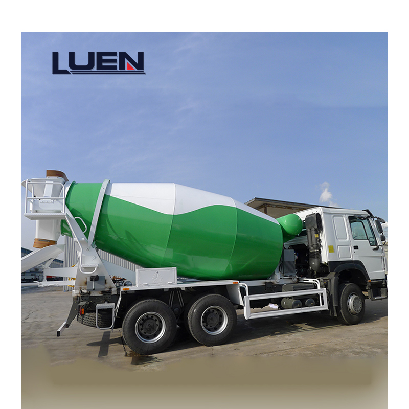 New HOWO Truck Mixer Construction Industry Used Cement Concrete Mixer Truck