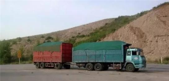 Full trailers flourish abroad and are unknown in China