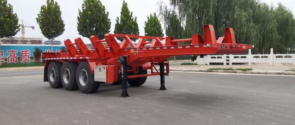 This semi-trailer is really suitable for pulling steel coils