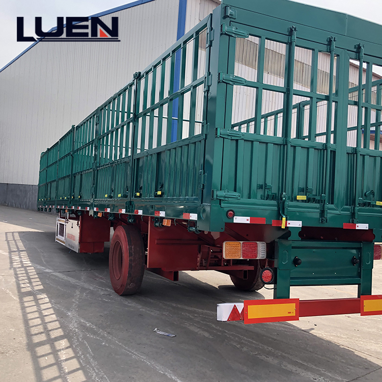 LUEN price of trailer Popular Animal Transport Fence utility trailers for sale