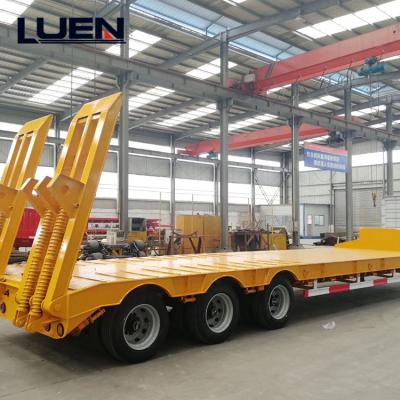 LUEN Low Bed Chassis Trailer Tractor Truck Semi Trailer