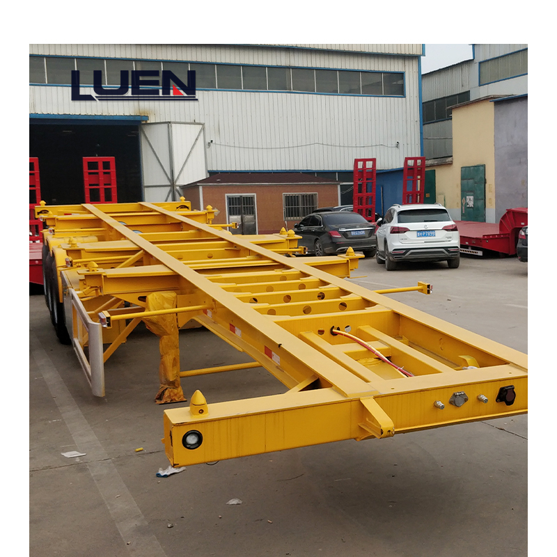 Container Transport LUEN Skeleton Semi-trailer