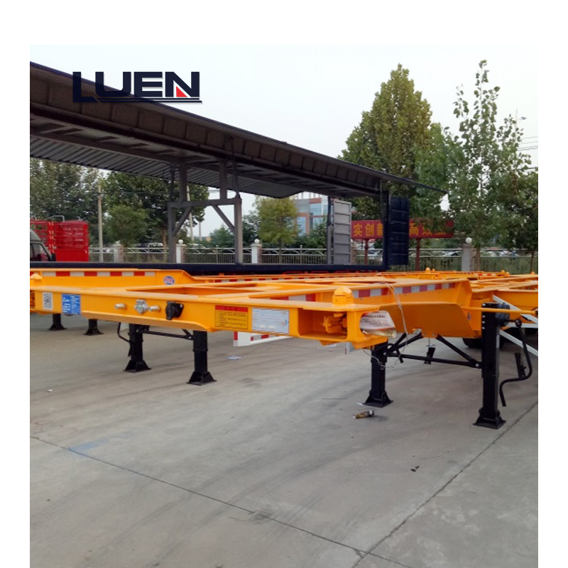 50T LUEN Skeleton Semi Trailer
