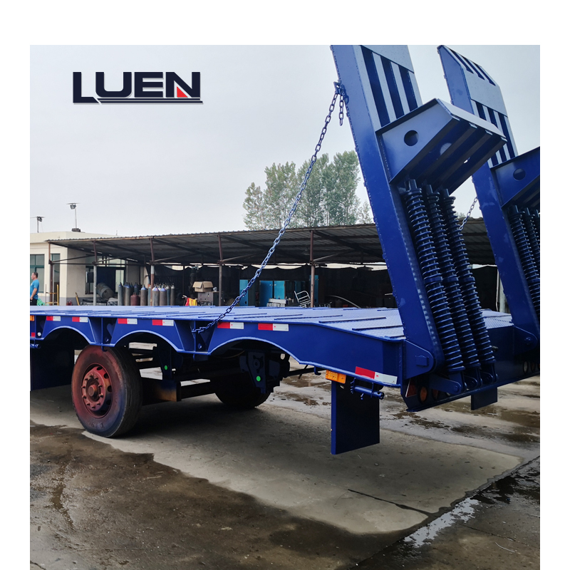 60 Ton LUEN  Low Bed Semi Trailer