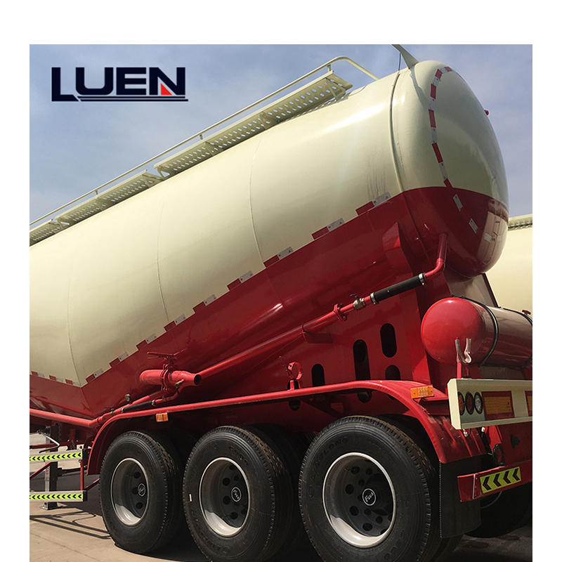 Features of powder material truck