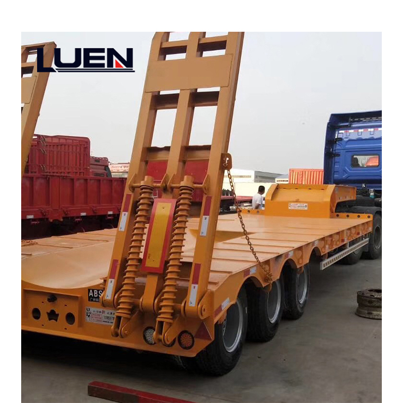 LUEN Low Bed Heavy Duty Dolly Semi Trailer